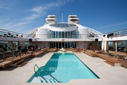 Seabourn Cruise Pool Deck