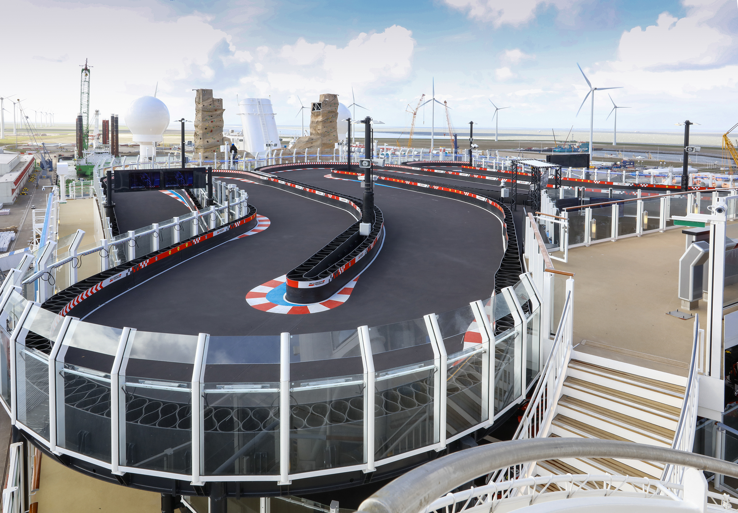 Norwegian Joy_Go Kart Area