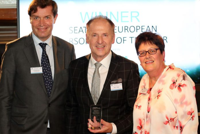 hapag lloyd seatrade european cruise personality of the year