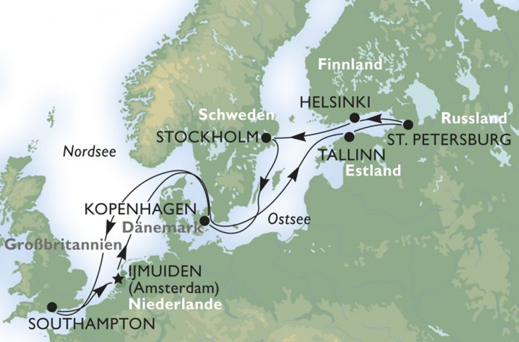 route-msc-opera-nord-ostsee-amsterdam-nach-amsterdam