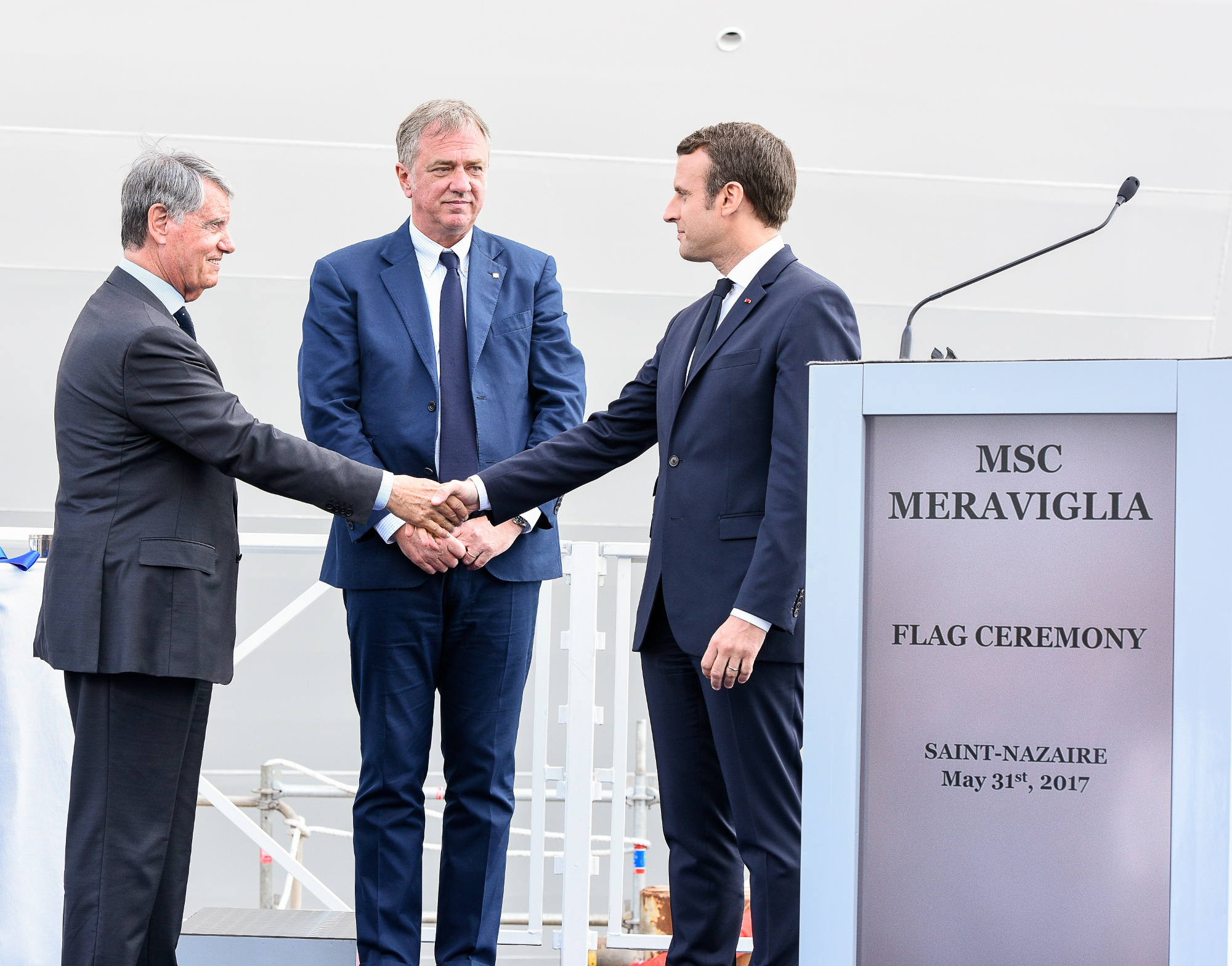 MSC Cruises demonstrates commitment to ship building in France