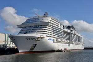 MSC Meraviglia starts the first of two rounds of sea trials