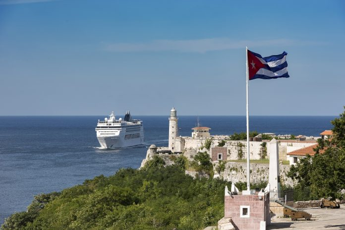 MSC Opera arrives in Havana, Kuba