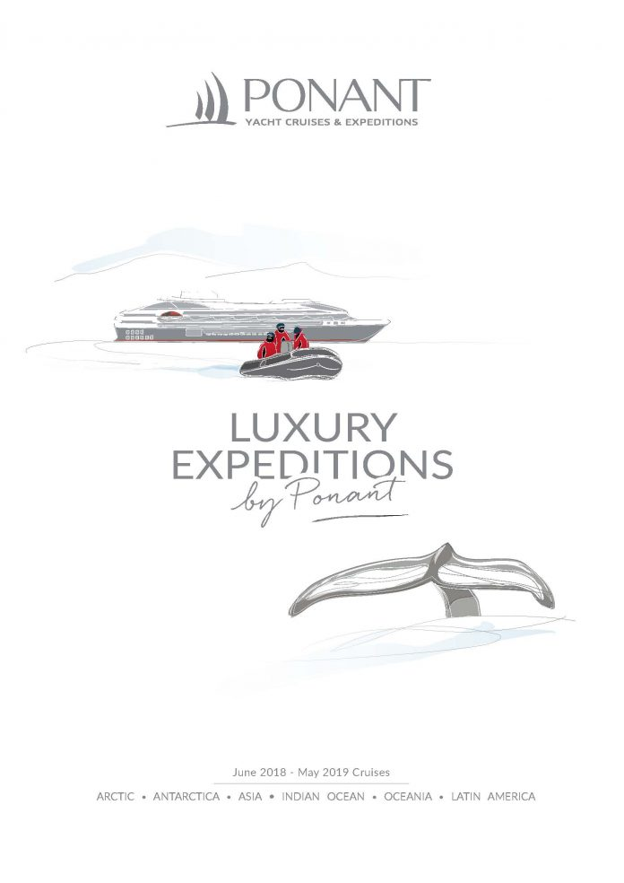 Expeditionen by Ponant - Katalogcover (c) Ponant