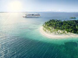 Karibik traumstrand in der karibik