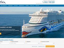 neue webseite der kreuzfahrt zentrale
