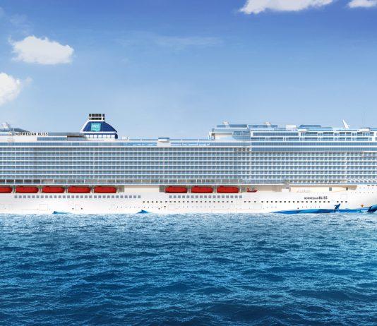 Bliss_Norwegian Cruise Line seitenansicht