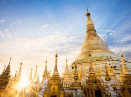 orient asien tempelanlage