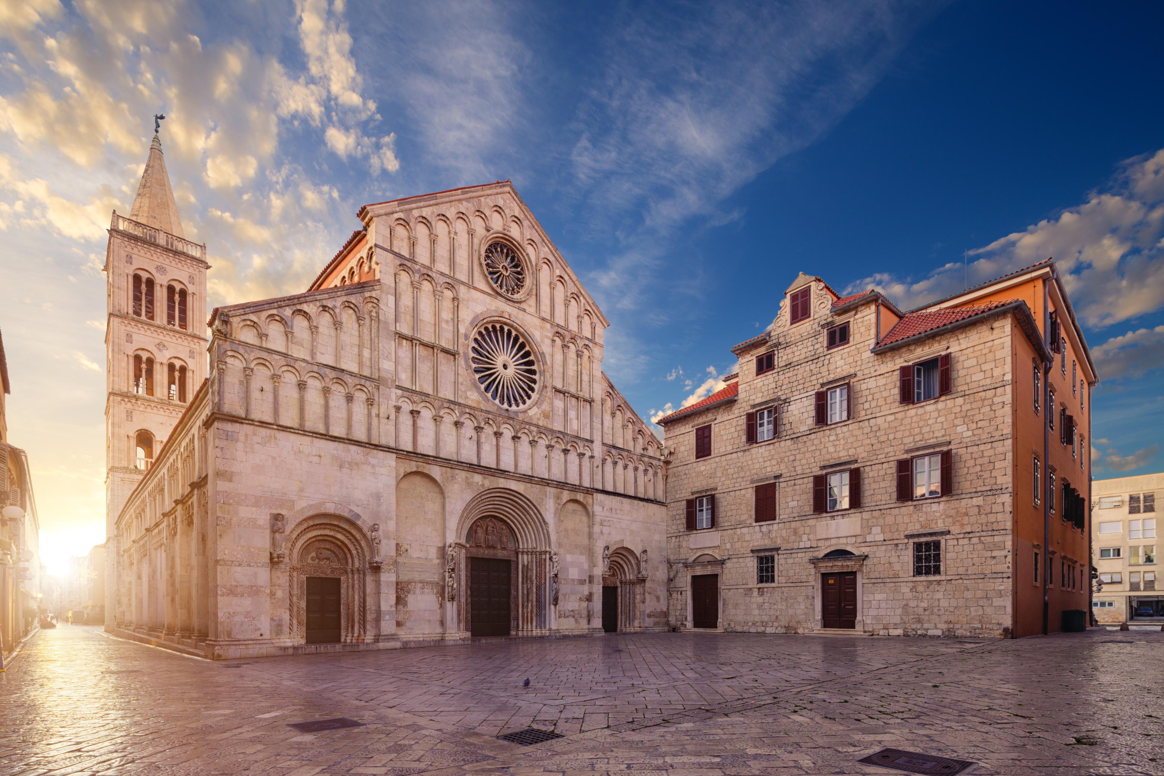 perlen der adria kirche in zadar