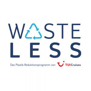 Logo WASTELESS Programm TUI CRUISES